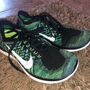 Nike Free 4.0 Flyknit (Green)